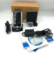 Dell Axim X51 Pocket Pc Handheld Pda Bundle Cradle Case Charger 1Gb Micro Sd