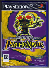 PS2 Psychonauts (2006), Spanish Version, UK Pal, Brand New & Sony Factory Sealed
