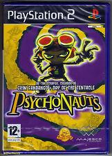 PS2 Psychonauts (2006), Spanish Version, UK Pal, Brand New & Sony Factory Sealed