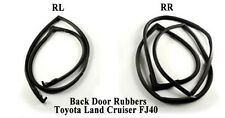 Weatherstrip Back Door Rubber Seal Set for Toyota Land Cruiser BJ40 FJ40