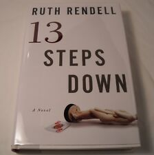 Thirteen Steps Down - SIGNED by Ruth Rendell - 1st Edition 1st Printing (B111)