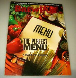 BrewPub Magazine October 1999 Successful Brewpub management Strategies