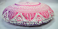 Indian Floor Pillow Cover Cotton Mandala Large Meditation Cushion Pouf Sham 32""