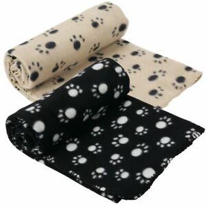 Extra Large Soft Cosy Warm Fleece Pet Dog Cat Animal Blanket Throw 140 x 100cm