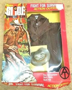 GI Joe adventure team fight for survival action outfit 12-in figure NIB