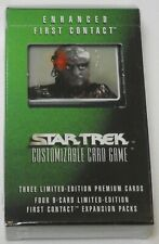 Decipher Star Trek Enhanced First Contact Gowron of Borg CCG Sealed NEW