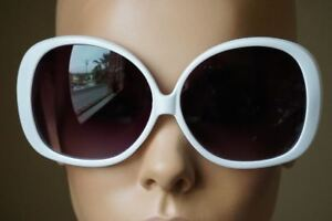 OVERSIZED XXL Huge Big Very Large Jackie O Round Dark Lens Sunglasses Women NEW