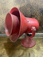 Vintage 1930 FEDERAL SIGNAL FIRE HOUSE SIREN Antique Firehouse Alarm 110 V WORKS