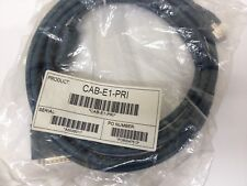 x1  CISCO  , CAB-E1-PRI , ISDN PRI 15 pin D-Sub DB15 Male To RJ45 Male 3M CABLE