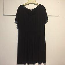 True Envy Women's Dress Plus 18W LBD Baby Doll Little Black Dress