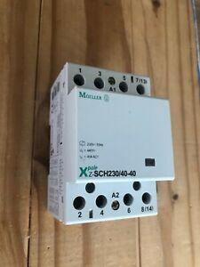 MOELLER 40a Z-SCH230/40-40 50hz contactor 230v 4 pole