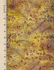 ANTHOLOGY FABRICS BATIK     100% Cotton Fabric priced by the 1/2 yard