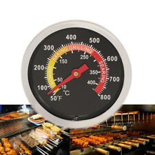 CO_ 50-400℃ Barbecue BBQ Grill Stainless Steel Thermometer Temperature Gauge E