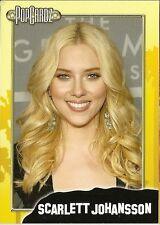 Scarlett Johansson  POPCARDZ #4 Trading Card. In Protective Sleeve BLACK WIDOW