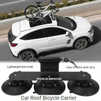 Roof-Top Suction Bike Holder Carrier Sucker Bicycle Transporting Luggage Rack