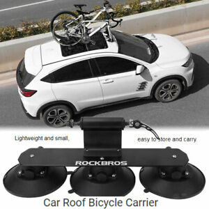 Bike Transport Rack Car Roof-Top Mount Suction Bicycle Holder Carrier Bracket