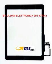 TOUCH SCREEN Per Apple iPad 5 Air A1474 A1475 A1476 WiFi e 3G VETRO Tablet Nero