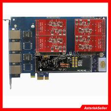 AEX410 + echo annuler. matériel - 4 port fxo fxs carte asterisk card elastix tdm400p