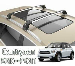 Mini Countryman R60 Roof Rack Bars For Vehicles With Flush Roof Rails 2010-2017