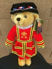 """Harrods Merrythought 18"""" Queen Elizabeth Beefeater Royal Guard Bear W/Tags"""