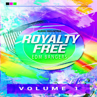 EDM Bangers Vol 1 - Dance Music PPL PRS Licence Free CD ROYALTY FREE