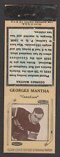 1933-34  DIAMOND MATCHBOOKS TYPE 3  GEORGE MANTHA   INV A3200