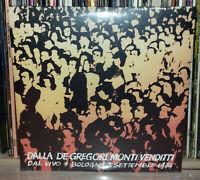 2 LP DALLA, DE GREGORI, MONTI, VENDITTI - BOLOGNA 2 SETTEMBRE 1974