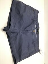 Abercrombie & Fitch Shorts Navy Blue Women's Size 31 New With Tags Free Shipp