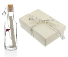 Wedding Day Gifts for Newlyweds Personalised Message in a Bottle Gift with Box