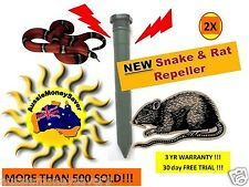 x2 NEW snake repellers Repellant  battery 30 DAY FREE TRIAL Pest control