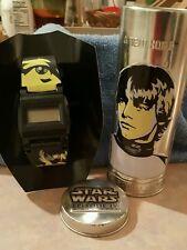 2005 Luke Skywalker & Stormtropper Burger King Star Wars watch w/Tin