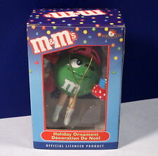 M&M's Christmas Shopper Collectible Holiday Ornament - Kurt Adler *New*