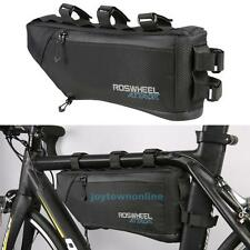 4L Waterproof Large Cycling Bike Bicycle Frame Tube Triangle Bag Pannier Pouch