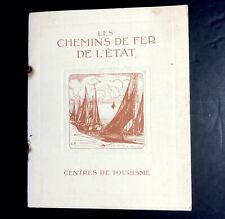 Ancien Fascicule Chemin De Fer De L'état  Normandie / Bretagne Sncf
