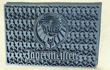 SOLID BLACK Jagermeister Jager Bar MAT BRAND NEW Heavy Duy