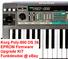 Korg Poly-800 OS 36 EPROM Firmware Upgrade KIT