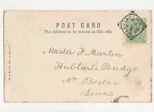 Master F Martin Hubberts Bridge Boston Lincs 1905 270a