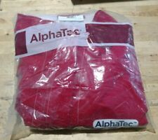 ANSELL Alpha-Tec Chemical Resistant Jacket,Red,XL, 8017 Red cpc Gore 66-660