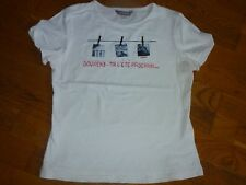 T-SHIRT BLANC OOXOO / MARESE 14 ANS / 160