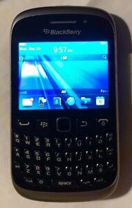 BlackBerry Curve 9315 Black (Unlocked) Cell Phone Excellent Pre-Production Phone