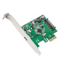 Syba USB 3.1 Type-c Pci-e 3.0 x 1 interne PCIe Carte et Adaptateur D'interfa...