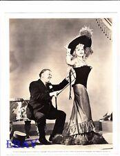 W.C. Fields does Mae West corset VINTAGE Photo My Little Chickadee