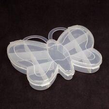 Box Schmetterling 13 Fächer Sortierbox Perlenbox Geschenkbox Motivbox 11x14x2cm