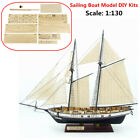 DIY Modello di nave barca a vela modello imbarcazione legno veliero nave