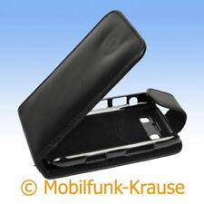 Flip Case Etui Handytasche Tasche Hülle f. BlackBerry Bold 9780 (Schwarz)