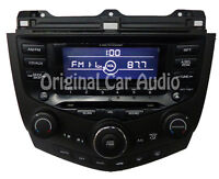 03 04 05 06 07 HONDA ACCORD Radio Stereo 6 Disc Changer CD Player Auto Climate