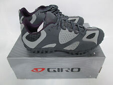 Giro Sage MTB Cycling Spinning Shoes Size 37 Women's 5.75 Gray/Plum New in Box