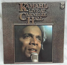 RECORD - KAMAHL LIVE AT CARNEGIE HALL - GREAT CONDITION