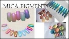 Nail Additives Mica Pigment Powder Set nail art acrylic polymer clay