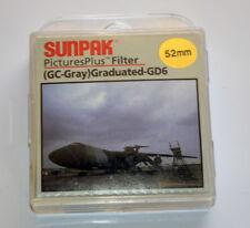 Sunpak-52mm-PicturesPlus-Rotating-Filter-GC-Gray-Graduated-GD6-New-in-Box